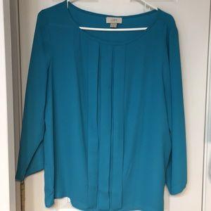 Loft outlet turquoise blouse